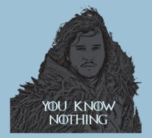 Jon Snow (Game of Thrones) Black by KidDex