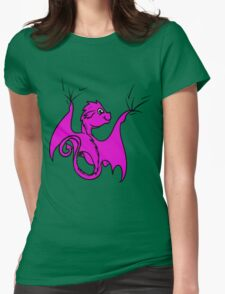 Pink Baby Dragon Rider T-Shirt