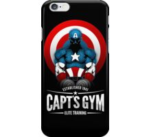 Capt's Gym iPhone Case/Skin