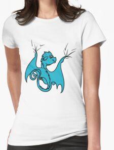 Cyan (Teal) Baby Dragon Rider T-Shirt