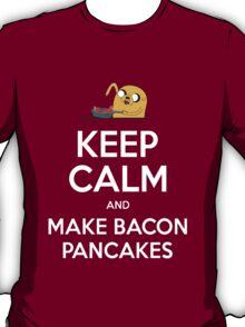 Keep Calm and Make Bacon Pancakes T-Shirt