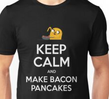 Keep Calm and Make Bacon Pancakes Unisex T-Shirt