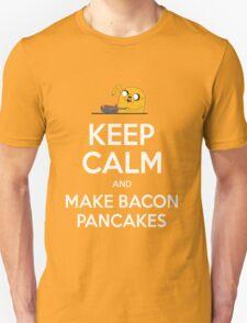 Keep Calm and Make Bacon Pancakes Unisex T-Shirt