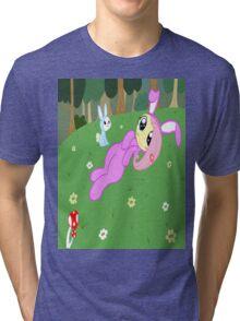 Ad'awwwable Fluttershy Tri-blend T-Shirt