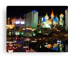 Las Vegas hotels Canvas Print