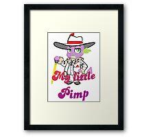 Spike the pimp Framed Print
