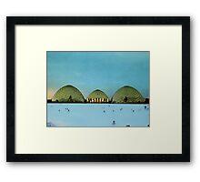 GEYSER Framed Print
