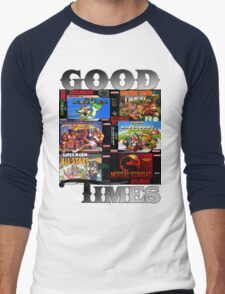 Good Times Men's Baseball ¾ T-Shirt
