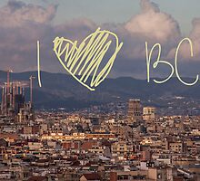 I love BCN by AnnaGo