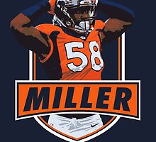 Von Miller - Denver Broncos by twyland