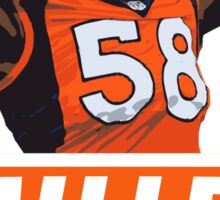 Von Miller - Denver Broncos Sticker