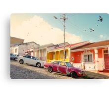 Cape Town Malay Quarter Canvas Print
