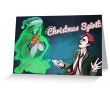 Christmas Spirit Card Greeting Card