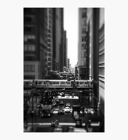 Chicago Street and The Loop Photographic Print