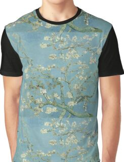 Almond blossom - Vincent Van Gogh  Impressionism  Famous Paintings Graphic T-Shirt