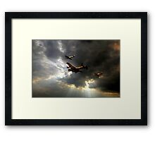 The Royal Air Force Battle of Britain Memorial Flight  Framed Print