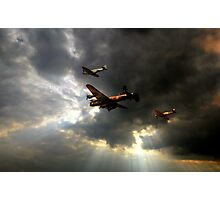 The Royal Air Force Battle of Britain Memorial Flight  Photographic Print