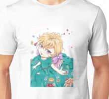 Petite fille en fleur Unisex T-Shirt