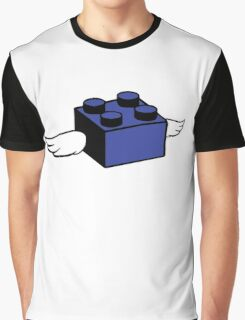 Flying Lego Graphic T-Shirt