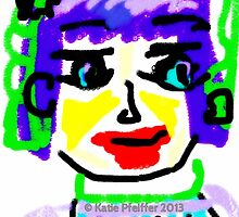 Doodle Face #1 by Kater