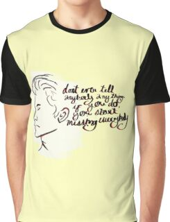 Hold Me Holden Graphic T-Shirt