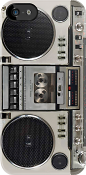 Vintage 80s Boombox Ghettoblaster by robotface