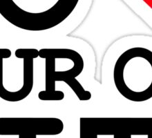 Go heart your own city Sticker