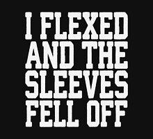 I Flexed And The Sleeves Fell Off Men's Baseball ¾ T-Shirt