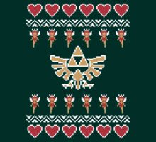 Hylian Holiday Sweater by Horrible Comics
