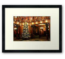 Christmas at Flagler College Framed Print