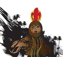 "Ikaika ""The Strong"" (variant edition) by kanielaakuna"
