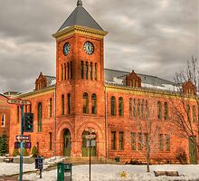 Coconino County Courthouse Flagstaff, AZ by K D Graves Photography