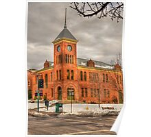 Coconino County Courthouse Flagstaff, AZ Poster