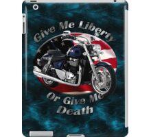 Triumph Thunderbird Give Me Liberty iPad Case/Skin