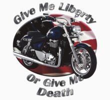 Triumph Thunderbird Give Me Liberty T-Shirt