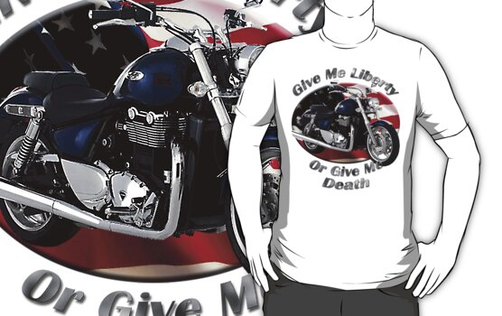 Triumph Thunderbird Give Me Liberty by hotcarshirts