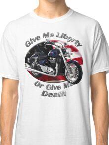 Triumph Thunderbird Give Me Liberty Classic T-Shirt