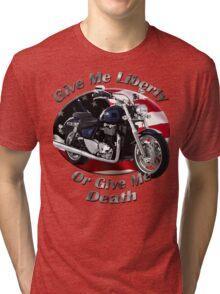 Triumph Thunderbird Give Me Liberty Tri-blend T-Shirt