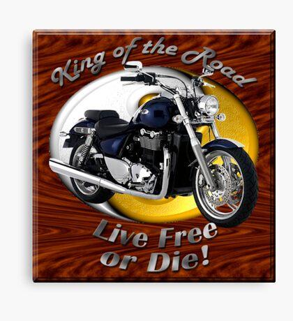 Triumph Thunderbird King Of The Road Canvas Print