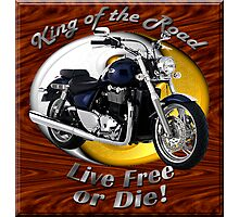 Triumph Thunderbird King Of The Road Photographic Print