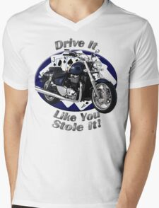 Triumph Thunderbird Drive It Like You Stole It Mens V-Neck T-Shirt