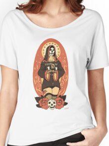 Santa Muerte Women's Relaxed Fit T-Shirt