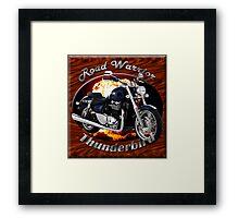 Triumph Thunderbird Road Warrior Framed Print