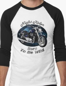 Triumph Thunderbird Night Rider Men's Baseball ¾ T-Shirt