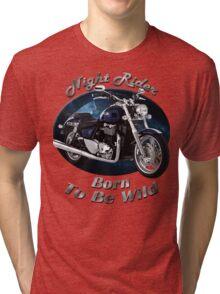 Triumph Thunderbird Night Rider Tri-blend T-Shirt