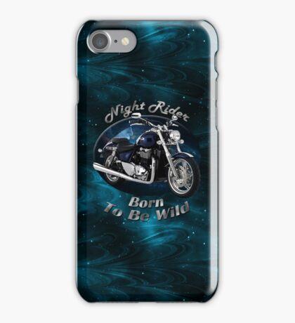 Triumph Thunderbird Night Rider iPhone Case/Skin
