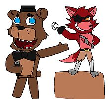 Foxy and Freddy Mates Again by PipLadInc