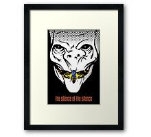 The silence of the Silence - Art Print Framed Print