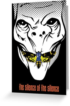 The silence of the Silence - Art Print by D4N13L