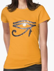 Illuminati Eye Cluster Galaxy | New Illuminati Womens Fitted T-Shirt